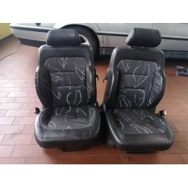 Peugeot 306  Fahrersitz + Beifahresitz Leder + Stoff